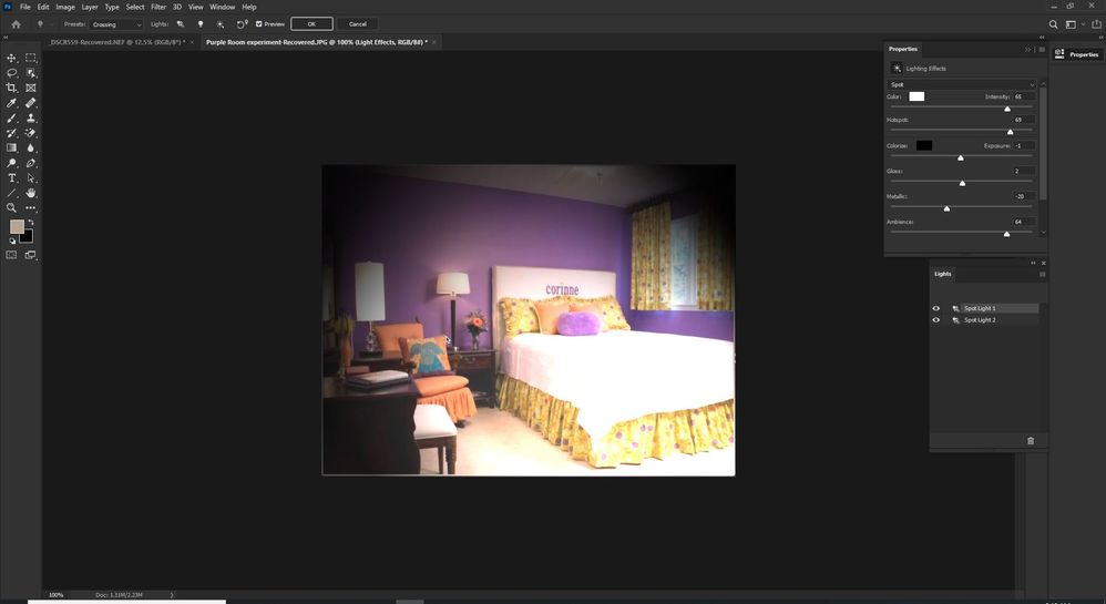 Screen Shot Filter-Render-Lighting Effects.JPG
