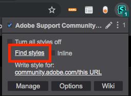 Stylus icon in Chrome toolbar