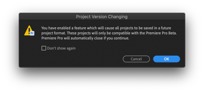 Beta feature enable - project upgrade warning.png