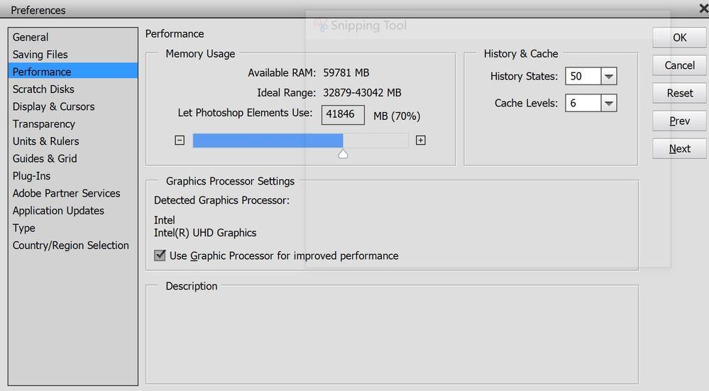 PSE detected graphics processor (Intel) 221020A.JPG