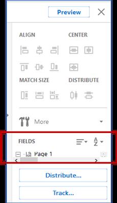 Snip Field List in Adobe DC 2015 form.png