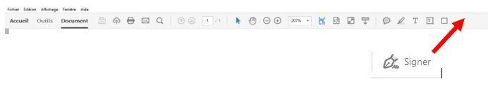 icone signer dans les outils rapides.JPG