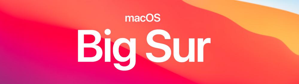 macOS Big Sur (version 11)