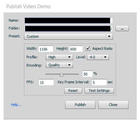 Captivate error - publish settings.JPG