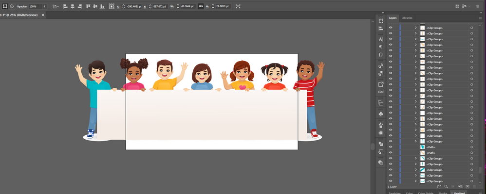Adobe Stock preview ai placed not linked every body part is clip group.png