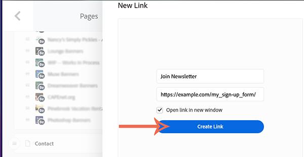 Adds external link to navigation menu