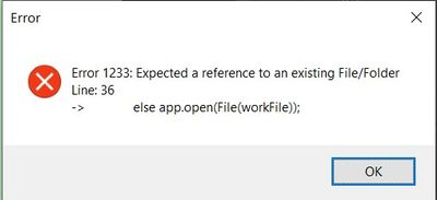 force open the temp file, causes error because the file is not yet in the temp folder. The editplacecontent is failing to open it