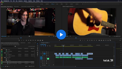 Adobe Premiere Pro Basics Part 1: Start, Import, and Organize