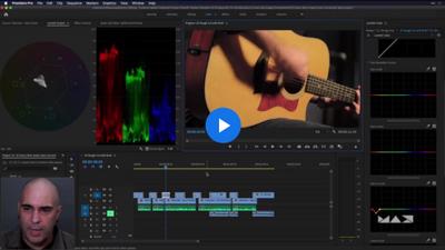 Adobe Premiere Pro Basics Part 2: Color, Clips, and Graphics