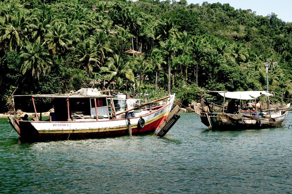 Rustic Firsherman Boats in a Tropical Island.jpg