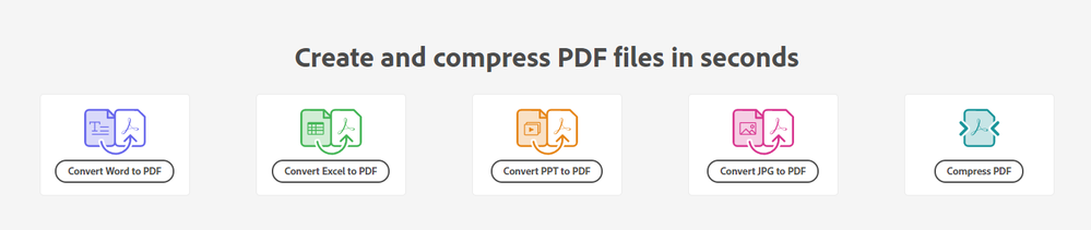 """Create and Compress PDFs online"""