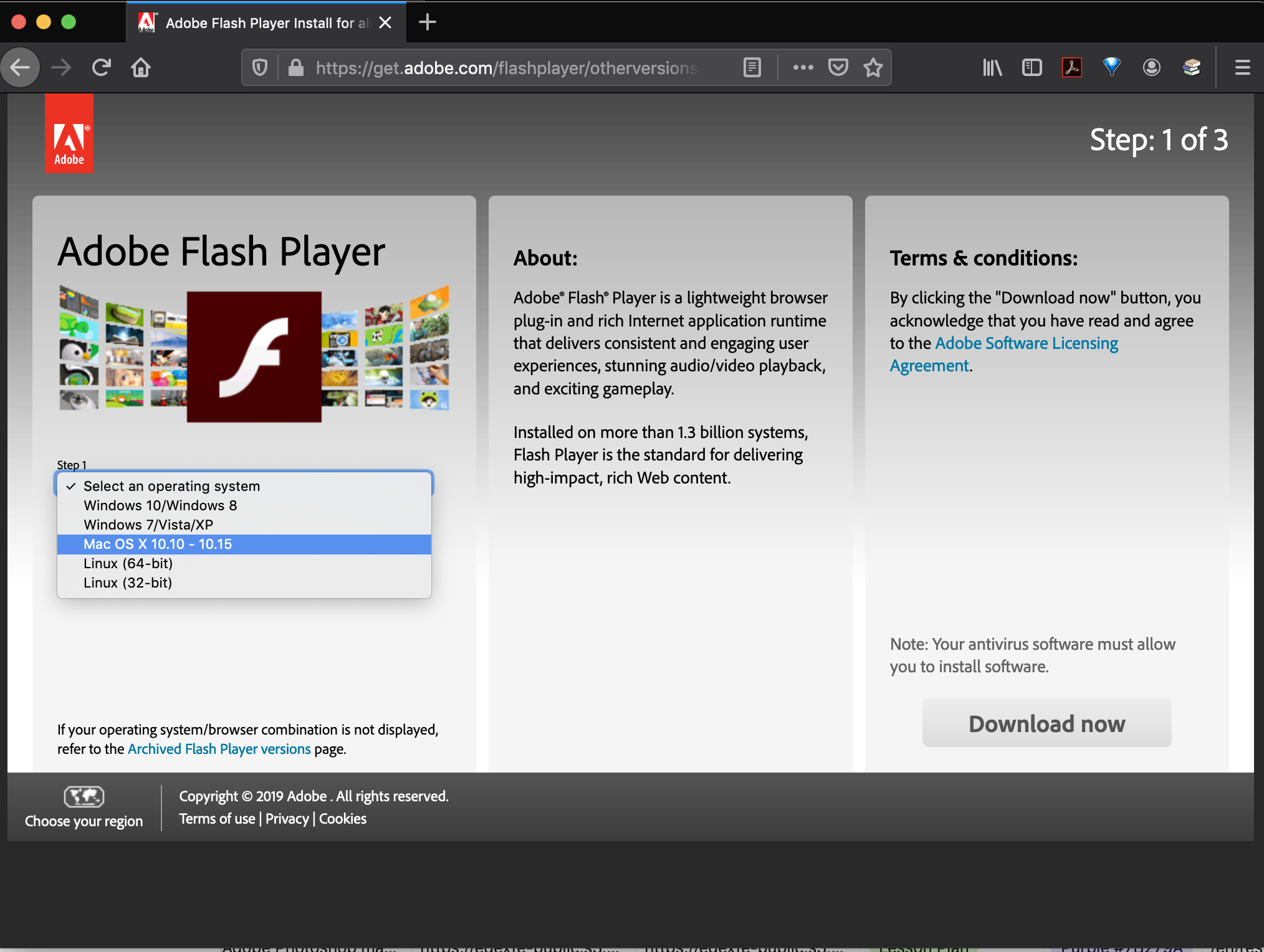 Flashplayer For Os Catalina Adobe Support Community 10708345