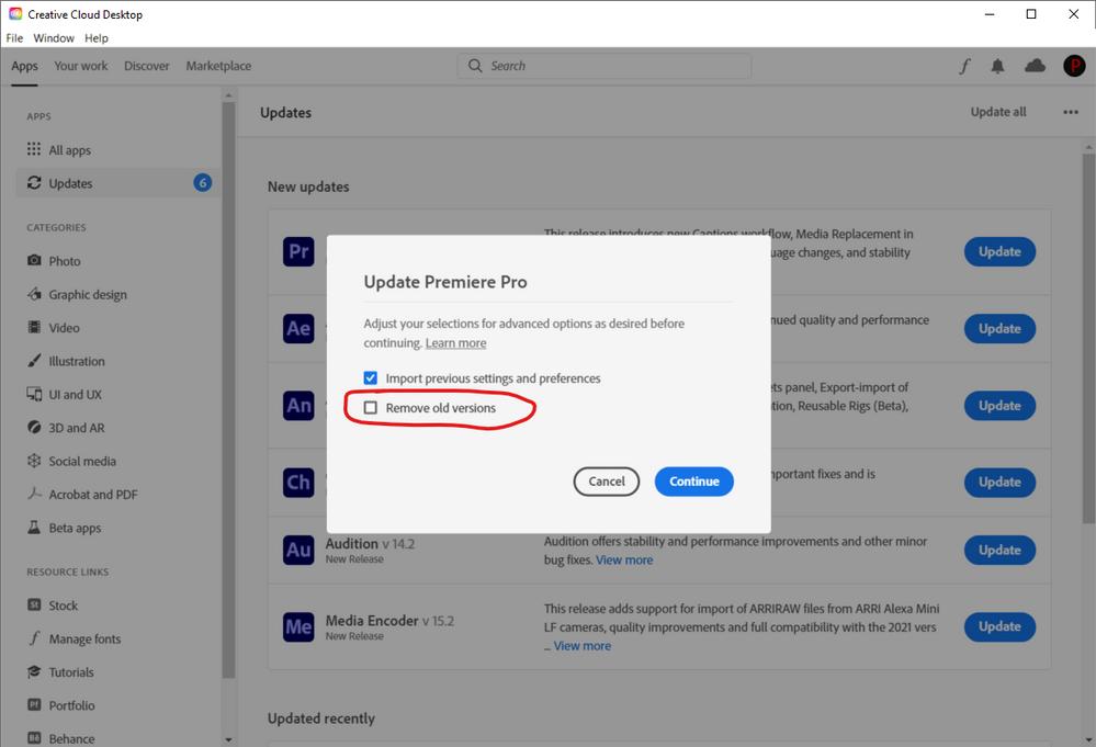 creative cloud desktop app remove old versions.png