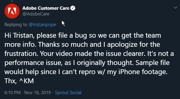 2019-11-18 18_12_02-Adobe Customer Care on Twitter_ _@tristanpope Hi Tristan, please file a bug so w.jpg