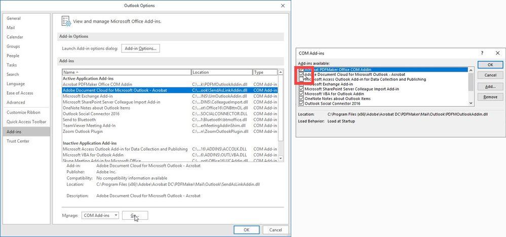 disable document cloud addin.jpg