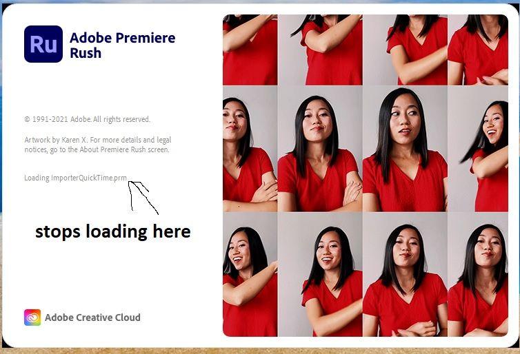 Premiere Rush not loading.jpg