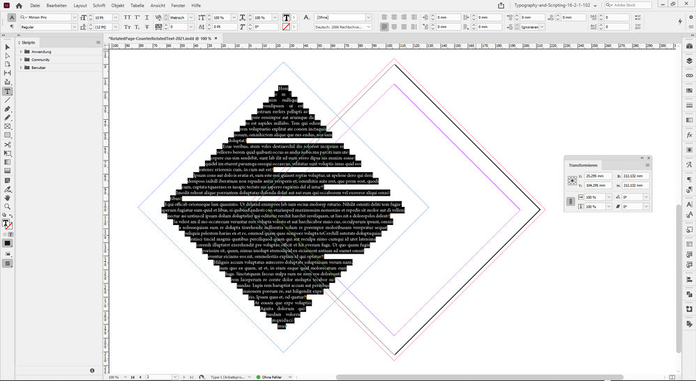 TextFrame-SizeOfPage-Insets-DirectSelectionTool-Rotated-Minus45-TextAdded.PNG
