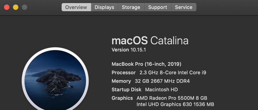 MacBook Spec