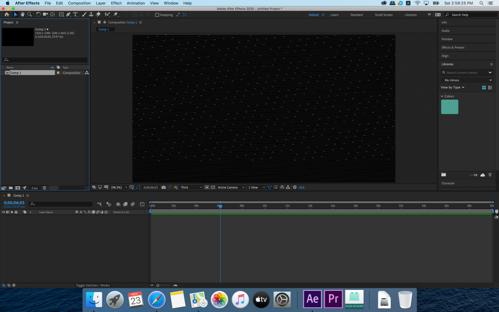 After Effects 2020