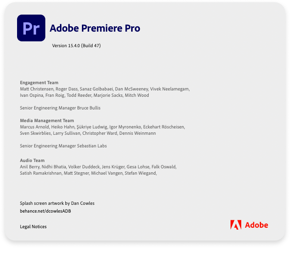 About Premiere Pro