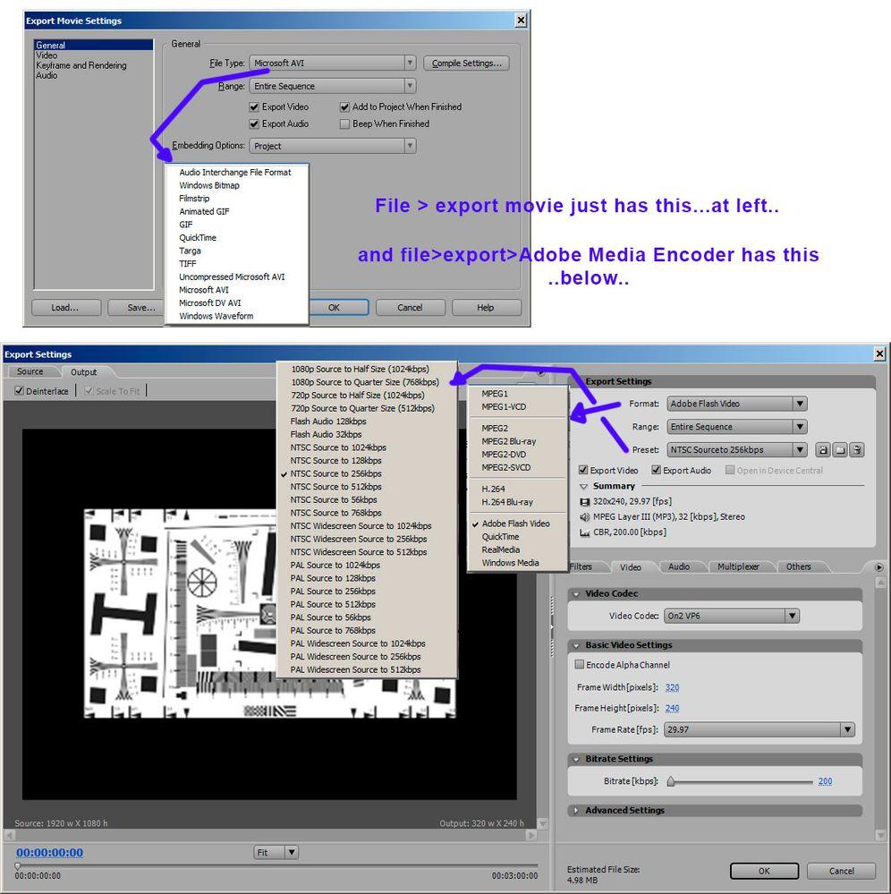 Premiere Pro CS3 movie export options.jpg