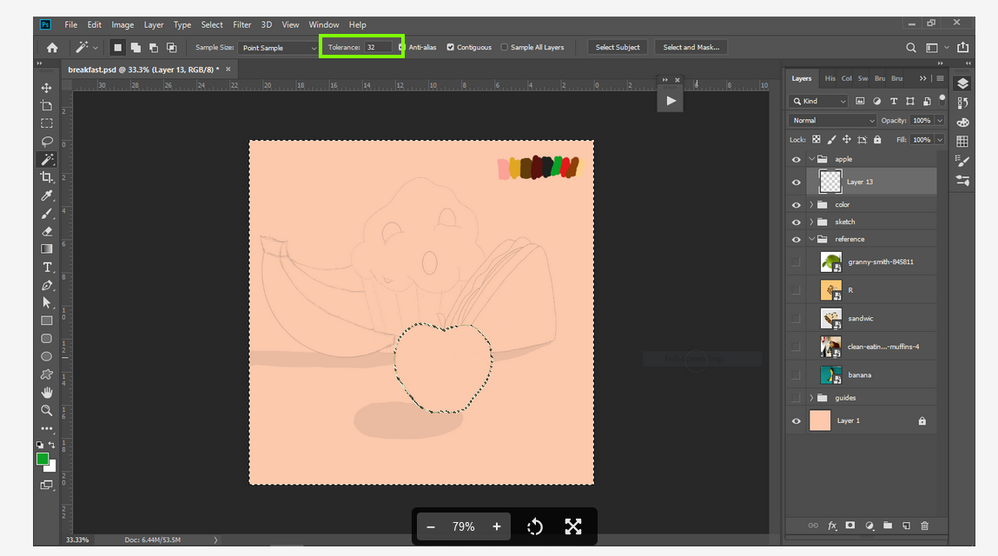 2021-09-02 14_35_50-Paint bucket filling whole layer, Magic wand selec... - Adobe Support Community .png