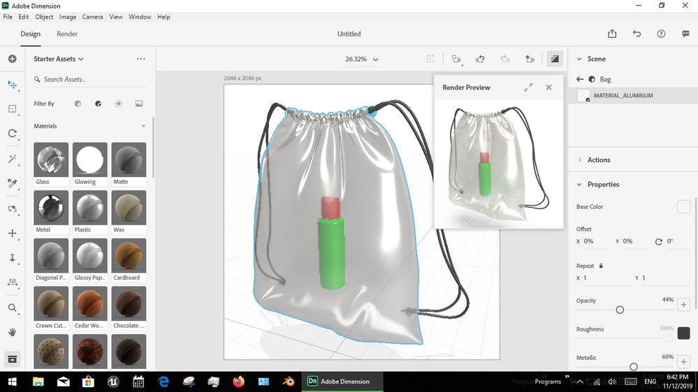 plastic bag example