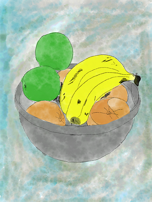 Fruit Bowl - Still Life