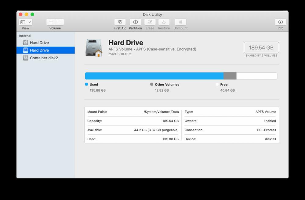 So a secondary internal HD, for your Home folder?? O_o