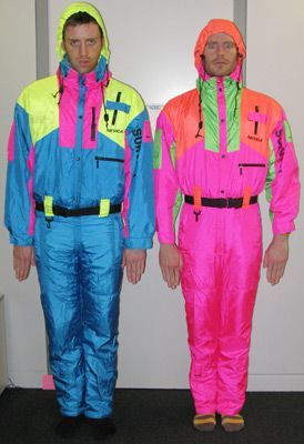 Day-Glo dudes