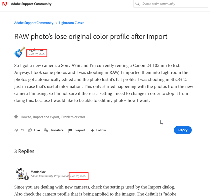 2019-12-30 12_47_26-RAW photo's lose original color profile after impo... - Adobe Support Community .png