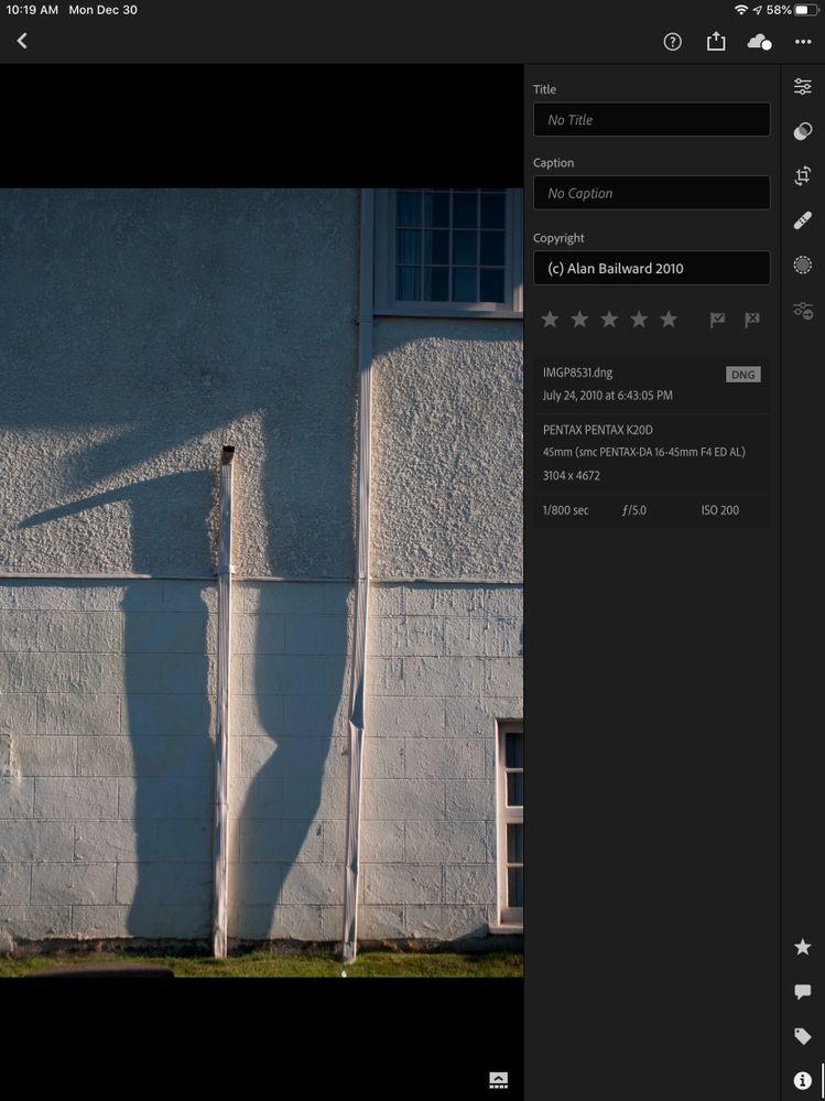 lightroom mobile screenshot showing exif information.jpeg