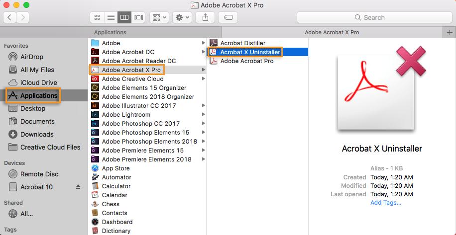 Adobe Acrobat X Pro full screenshot