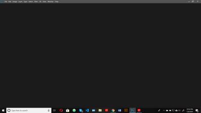 screenshot of opening screen