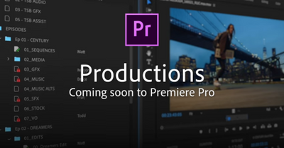 Productions provides new tools for collaborative workflows