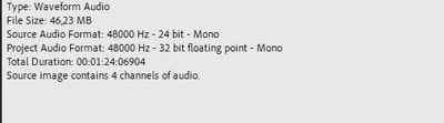 Audio File Properties