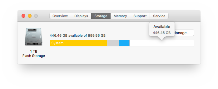 About This Mac - Storage - Available.png