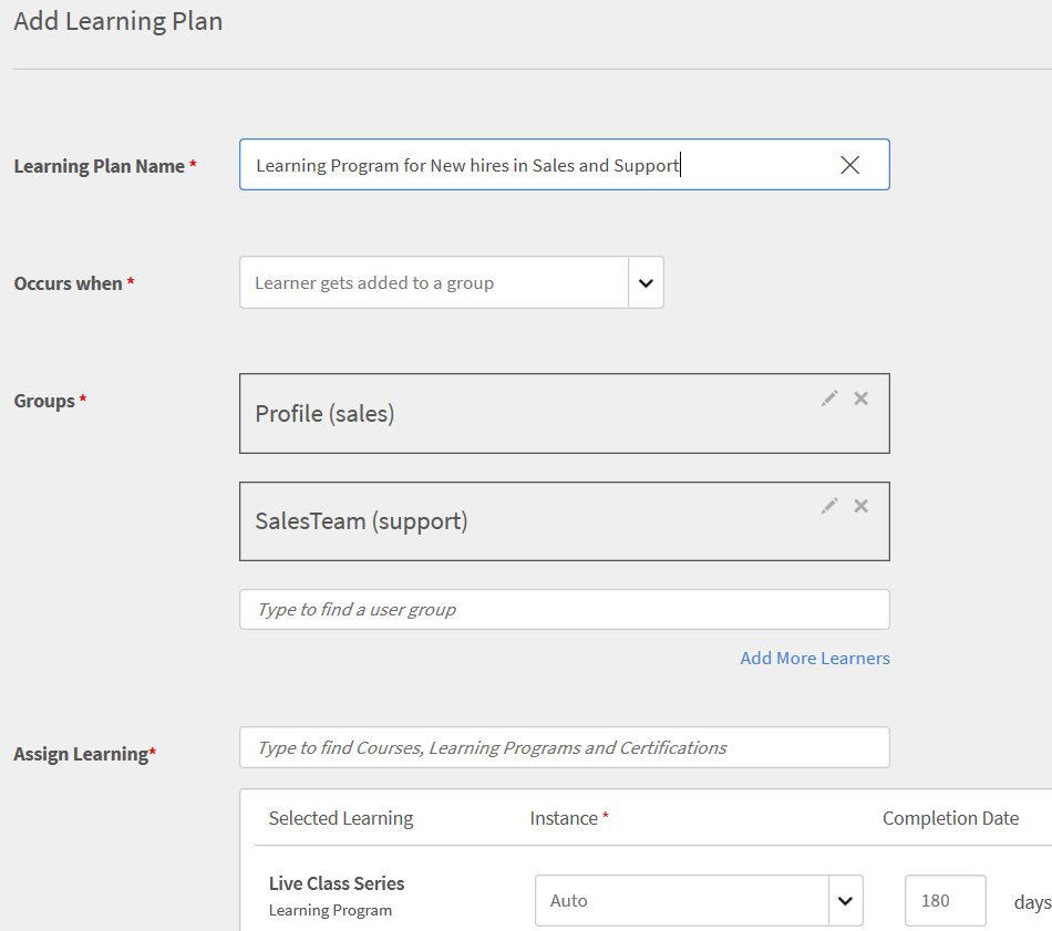 Create a Learning Plan for when Users are added to a Group.PNG