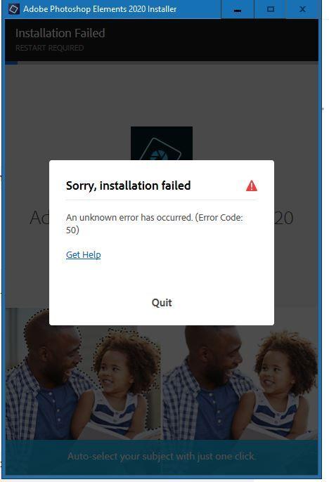 Adobe issue error message.JPG