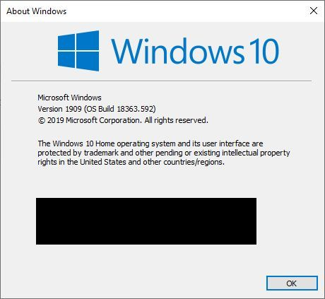 windows version with winver hide email address.jpg