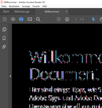 broken PDF views