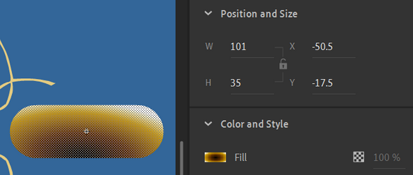 button background in editor