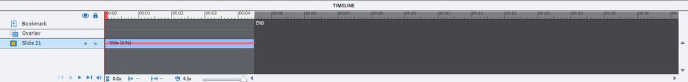 Timeline elements