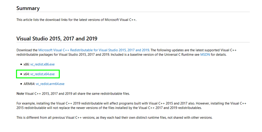 2020-02-26 14_39_42-The latest supported Visual C++ downloads.png