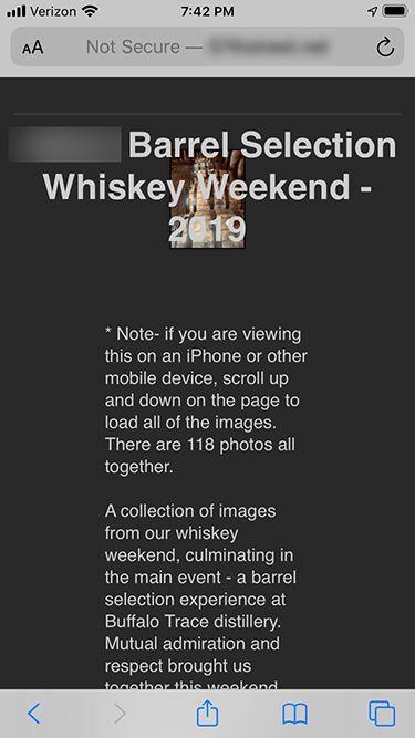 118 image gallery renders like this on iPhone