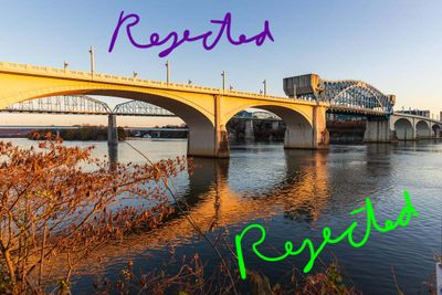 Rejected for editorial. I included the name and location of the bridge in the description