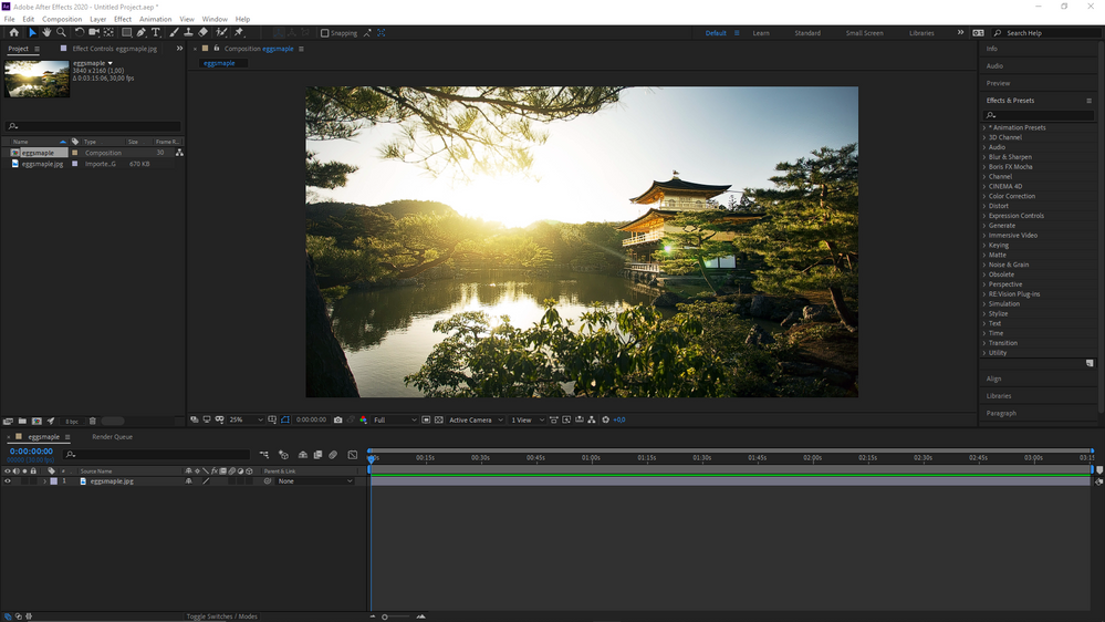 Full After Effects window