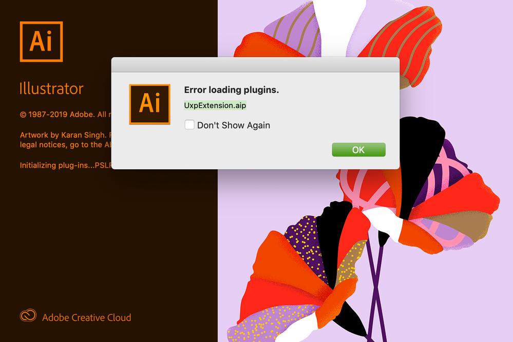 Adobe Ill 24.1 errors