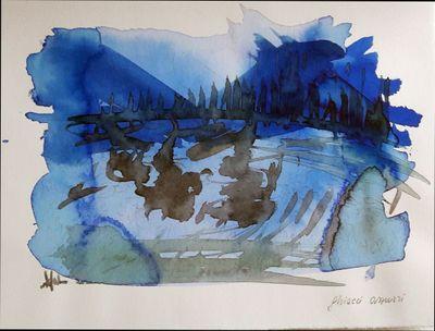 Ghiacci azzurri, acquerello.jpg