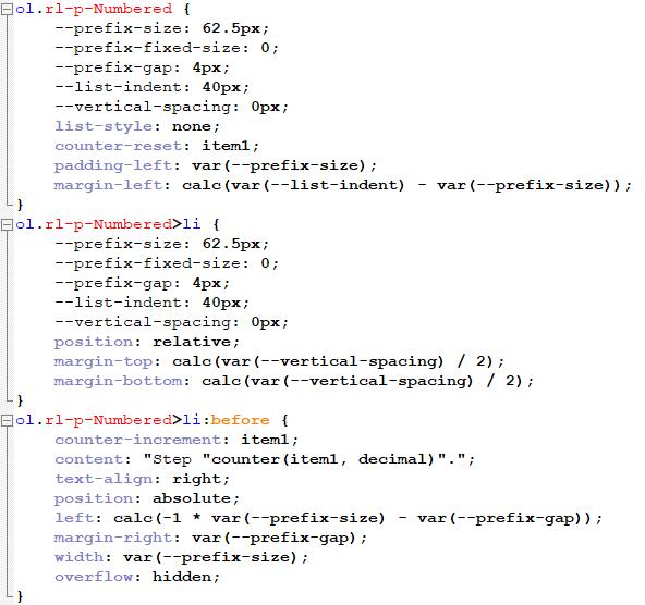 NumberedListStepsOldCSS.png